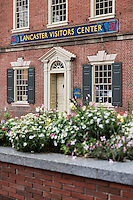Lancaster City visitors center, Lancaster, Pennsylvania, USA