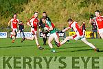 Kilcummin v Rathmore, during their relegation play-off in Killarney on Saturday.