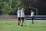 FBL 09/10 Traininglager  Werder Bremen Norderney 2007 Day 02<br /> <br /> Training Samstag nachmittag<br /> <br /> Thomas Schaaf ( Bremen GER - Trainer  COACH) und Michael Kraft ( Bremen - TW - Trainer GER ) hinten Wolfgang Rolff ( Bremen - Co - Trainer  GER)<br /> <br /> <br /> Foto &copy; nph (nordphoto)