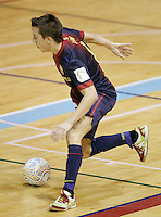 FC Barcelona Alusport's Lin during Spanish National Futsal League match.November 24,2012. (ALTERPHOTOS/Acero) /NortePhoto