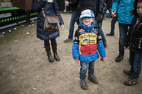 young cycling fan<br /> <br /> Krawatencross Lille 2017