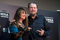 Caroline Munro and Don Coscarelli attends to opening of International Fantastic Film Festival of Madrid, Nocturna in Madrid, Spain. October 26, 2017. (ALTERPHOTOS/Borja B.Hojas)