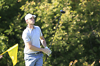 Thomas Pieters (BEL) (Team Europe) on the 10th tee during Saturday afternoon Fourball at the Ryder Cup, Hazeltine National Golf Club, Chaska, Minnesota, USA.  01/10/2016<br /> Picture: Golffile | Fran Caffrey<br /> <br /> <br /> All photo usage must carry mandatory copyright credit (&copy; Golffile | Fran Caffrey)