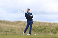 Geoff Lenehan (Portmarnock) on the 5th tee during Round 4 of the East of Ireland Amateur Open Championship at Co. Louth Golf Club in Baltray on Monday 5th June 2017.<br /> Photo: Golffile / Thos Caffrey.<br /> <br /> All photo usage must carry mandatory copyright credit     (&copy; Golffile | Thos Caffrey)