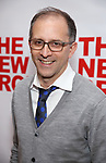 "John Rando attends the Off-Broadway Opening Night Premiere of  ""Jerry Springer-The Opera"" on February 22, 2018 at the Green Fig Urban Eatery in New York City."
