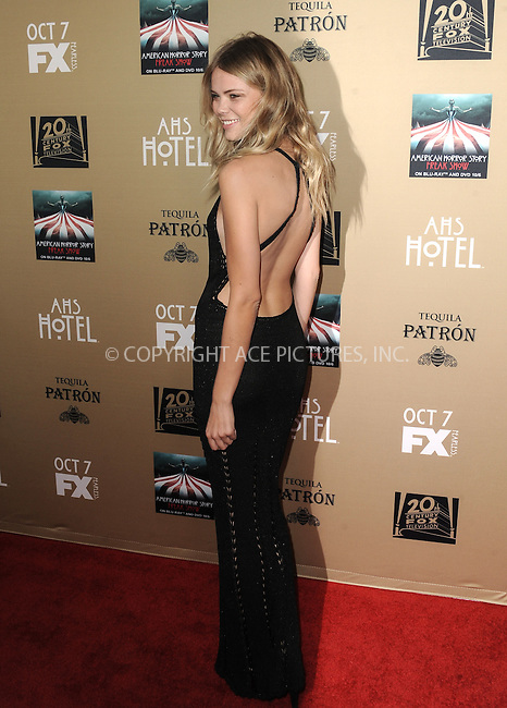 WWW.ACEPIXS.COM<br /> <br /> October 3 2015, LA<br /> <br /> Kamilla Alnes arriving at the premiere of FX's 'American Horror Story: Hotel' at the Regal Cinemas L.A. Live on October 3, 2015 in Los Angeles, California.<br /> <br /> <br /> By Line: Peter West/ACE Pictures<br /> <br /> <br /> ACE Pictures, Inc.<br /> tel: 646 769 0430<br /> Email: info@acepixs.com<br /> www.acepixs.com