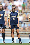 15 September 2013: Notre Dame's Cari Roccaro. The University of North Carolina Tar Heels hosted the University of Notre Dame Fighting Irish at Fetzer Field in Chapel Hill, NC in a 2013 NCAA Division I Women's Soccer match. Notre Dame won the game 1-0.