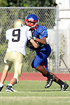 Gardena, CA 09/24/09 - Serra of Gardena Freshmen/Sophomores defeated the Peninsula Panthers 44-0.  In action are Stephen Sansom
