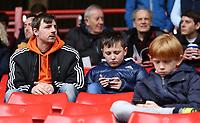 Blackpool fans enjoy the pre match atmosphere<br /> <br /> Photographer David Shipman/CameraSport<br /> <br /> The EFL Sky Bet League One - Charlton Athletic v Blackpool - Saturday 16th February 2019 - The Valley - London<br /> <br /> World Copyright © 2019 CameraSport. All rights reserved. 43 Linden Ave. Countesthorpe. Leicester. England. LE8 5PG - Tel: +44 (0) 116 277 4147 - admin@camerasport.com - www.camerasport.com