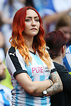 A Huddersfield fan looks on during the Championship Play-Off Final match at Wembley Stadium, London. Picture date: May 29th, 2017. Pic credit should read: David Klein/Sportimage
