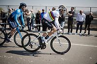 World Champion Alejandro Valverde (ESP/Movistar)<br /> <br /> 110th Milano-Sanremo 2019 (ITA)<br /> One day race from Milano to Sanremo (291km)<br /> <br /> ©kramon