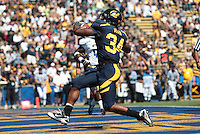 Shane Vereen in the endzone. The University of California Berkeley Golden Bears defeated the UC Davis Aggies 52-3 in their home opener at Memorial Stadium in Berkeley, California on September 4th, 2010.
