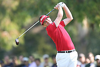 02/19/12 Pacific Palisades: Keegan Bradley during the fourth round of the Northern Trust Open held at the Riviera Country Club