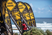 Margaret River, Western Australia    (Tuesday, April 10, 2018) - The Margaret River Pro, Stop No. 3 on the World Surf League (WSL) Championship Tour (CT) is only one day away.<br /> Surfers, politicians and dignitaries attended a press session this morning at the contest site to kick off this year's event. Current ratings leaders Italo Ferreira (BRA) and Stephanie Gilmore (AUS), current World Champion John John Florence (HAW) and WA Minister for Tourism Paul Papalia were in attendance. Photo: joliphotos.com