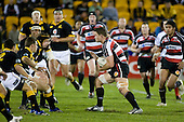 Kristian Ormsby takes the ball to the Wellington defensive line. Air New Zealand Cup rugby game between Counties Manukau Steelers & Wellington played at Mt Smart Stadium on the 31st August 2007. The Score was 13 all at halftime, with Wellington going on to win 33 - 18.