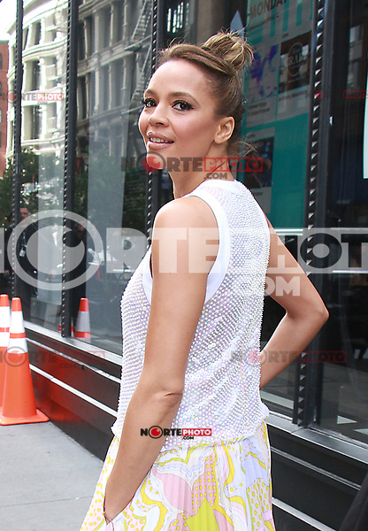 NEW YORK, NY - OCTOBER 30:  Carmen Ejogo seen at AOL's Build Series in New York City on October 30,  2017. Credit: RW/MediaPunch /NortePhoto.com