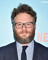 HOLLYWOOD, CA - JULY 31: Seth Rogen arrives at the Premiere Of Netflix's 'Like Father' at ArcLight Hollywood on July 31, 2018 in Hollywood, California.<br /> CAP/ROT/TM<br /> &copy;TM/ROT/Capital Pictures