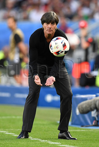 02.07.2016. Bordeaux, France. Germany's head coach Joachim Loew during the UEFA EURO 2016 quarter final soccer match between Germany and Italy at the Stade de Bordeaux in Bordeaux, France, 02 July 2016.
