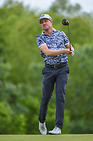 Jonas Blixt (SWE) watches his tee shot on 4 during round 3 of the AT&T Byron Nelson, Trinity Forest Golf Club, Dallas, Texas, USA. 5/11/2019.<br /> Picture: Golffile | Ken Murray<br /> <br /> <br /> All photo usage must carry mandatory copyright credit (© Golffile | Ken Murray)
