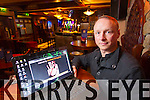 Danny Leane of the Abbey Inn who's website was hacked on Wednesday.