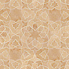 Alcala, a waterjet stone mosaic, shown in Jerusalem Gold honed, is part of the Miraflores Collection by Paul Schatz for New Ravenna Mosaics.