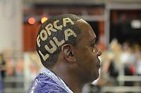 SAO PAULO, SP, 19 DE FEVEREIRO 2012 - CARNAVAL SP - GAVIOES DA FIEL - Desfile da escola de samba Gavioes da Fiel na segunda noite do Carnaval 2012 de São Paulo, no Sambódromo do Anhembi, na zona norte da cidade, neste domingo.(FOTO: ADRIANO LIMA  - BRAZIL PHOTO PRESS).