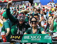 Mexikanische Fans - 17.06.2018: Deutschland vs. Mexico, Luschniki Stadium Moskau