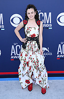 07 April 2019 - Las Vegas, NV - Chevel Shephard. 2019 ACM Awards at MGM Grand Garden Arena, Arrivals.<br /> CAP/ADM/MJT<br /> &copy; MJT/ADM/Capital Pictures