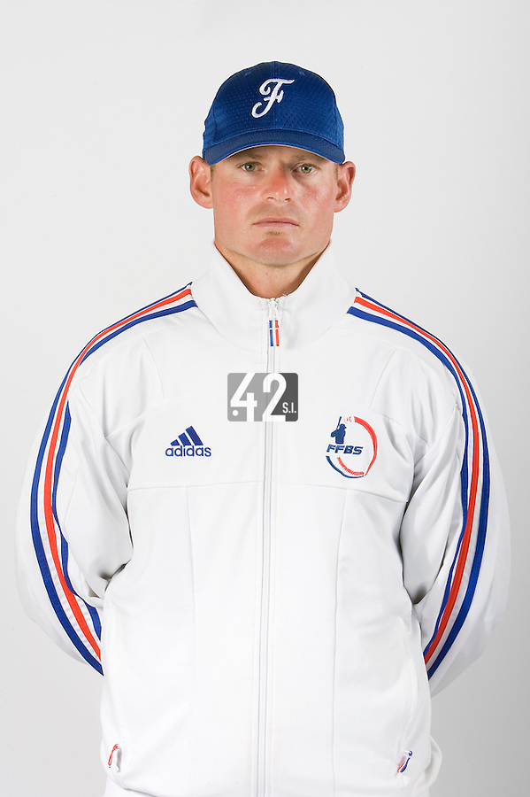 15 Aug 2007: Jeff Zeilstra - Team France Baseball