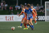 Boston, MA - Wednesday August 16, 2017: Angela Salem during a regular season National Women's Soccer League (NWSL) match between the Boston Breakers and the Houston Dash at Jordan Field.