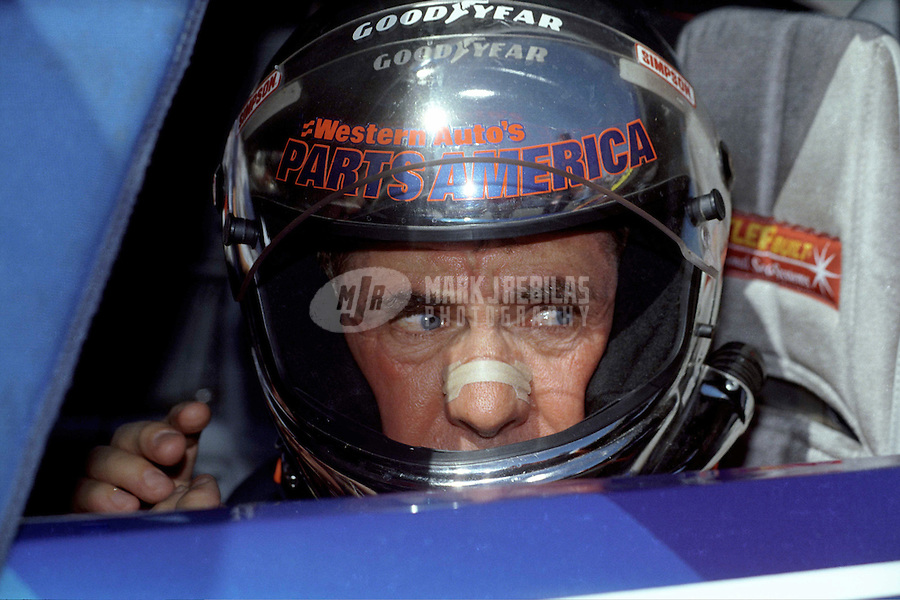 Nov. 2, 1997; Avondale, AZ, USA; NASCAR Winston Cup Series driver Darrell Waltrip during the Dura Lube 500 at Phoenix International Raceway. Mandatory Credit: Mark J. Rebilas-
