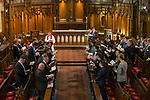 Chapel Service at the Greenbank 21 Year Reunion - Old Collegians, Kings College, Auckland, New Zealand,  Saturday, August 05, 2017.Photo: David Rowland / One-Image.com for BW Media