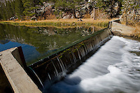 High Sierra Dam, South Lake, Sierra Nevada CA