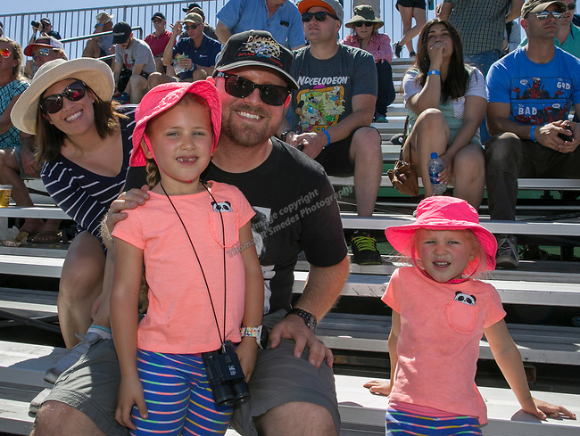 The Kaschak family during the National Championship Air Races in  Reno, Nevada on Saturday, Sept. 14, 2019.