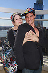 "Days Of Our Lives Louise Sorel and Billy Freda at Promo shoot for the annual Broadway Extravaganza in honor of Jane Elissa's Candidacy for Leukemia & Lymphoma Society Woman of the Year and for Hats for Health on April 23, 2012 at the Marriott Marquis Hotel, New York City, New York. In the shoot are Days of Our Live Louise Sorel ""Vivian"", Broadway Bonnie and Clyde Melissa VanDer Schyff and Clay Elder, Dale Badway (Creator Fame-Wall) and host for the upcoming event, Corey Brunish (producer of Bonnie & Clyde) and Billy Freda, Missy Modell (Photo by Sue Coflin/Max Photos)"