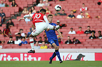 Tyreece John-Jules scores Arsenal's opening goal with a spectacular shot during Arsenal Under-23 vs Everton Under-23, Premier League 2 Football at the Emirates Stadium on 23rd August 2019