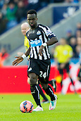03.01.2015.  Leicester, England. FA Cup 3rd Round. Leicester versus Newcastle United. Cheick Tiote (Newcastle United) on the ball.