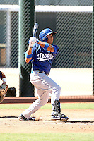 Angelo Songco - Los Angeles Dodgers - 2010 Instructional League.Photo by:  Bill Mitchell/Four Seam Images..