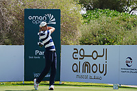 Ross Fisher (ENG) on the 3rd during Round 2 of the Oman Open 2020 at the Al Mouj Golf Club, Muscat, Oman . 28/02/2020<br /> Picture: Golffile | Thos Caffrey<br /> <br /> <br /> All photo usage must carry mandatory copyright credit (© Golffile | Thos Caffrey)