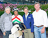Team Neivens after winning with Fearsome at Delaware Park on 10/14/15