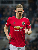 Scott McTominay of Man Utd during the Premier League match between Newcastle United and Manchester United at St. James's Park, Newcastle, England on 6 October 2019. Photo by J GILL / PRiME Media Images.