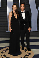 04 March 2018 - Los Angeles, California - Talisa Soto, Benjamin Bratt. 2018 Vanity Fair Oscar Party hosted following the 90th Academy Awards held at the Wallis Annenberg Center for the Performing Arts. <br /> CAP/ADM/BT<br /> &copy;BT/ADM/Capital Pictures