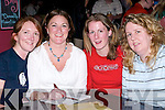 FRANK FITZGIBBON MEMORIAL: Melanie O'Donnell, Grace O'Donnell, Sarah Tobin.and June O'Driscoll who were at the Fundraising Quiz at O'Donnell's Bar & Restaurant,.Mounthawk, Tralee, on Thursday night.