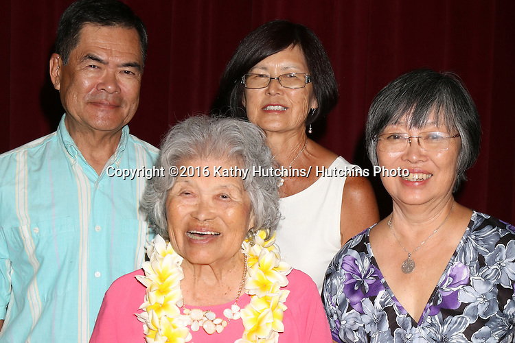 LOS ANGELES - AUG 6:  Lily Taka, guests at the Lily Taka 100th Birthday Party at the First Christian Church on August 6, 2016 in Riverside, CA