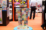 """June 14th, 2012: Tokyo, Japan - """"Kumi Pane"""", which is a colorful puzzle game is displayed during the International Tokyo Toy Show 2012 at Tokyo Big Sight in Tokyo, Japan. This event lasts from June 14th to 17th.  (Photo by Yumeto Yamazaki/AFLO)"""
