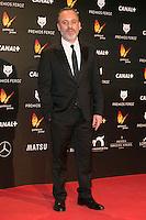 Javier Gutierrez attends the Feroz Cinema Awards 2015 at Las Ventas, Madrid,  Spain. January 25, 2015.(ALTERPHOTOS/)Carlos Dafonte) /NortePhoto<br /> <br /> nortePhoto.com