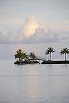 Palau, Micronesia -- Tranquil scenery.