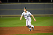 Siena Saints shortstop Jordan Folgers (12) during a game against the UCF Knights on February 17, 2017 at UCF Baseball Complex in Orlando, Florida.  UCF defeated Siena 17-6.  (Mike Janes/Four Seam Images)