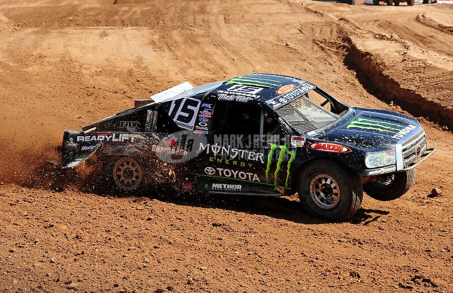 18-20 March 2011, Chandler, Arizona, USA Marty Hart, Toyota Tundra.©2011, Mark J. Rebilas