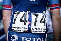 Pim Ligthart (NED/Total Direct Energie) race ready<br /> <br /> GP Marcel Kint 2019 (BEL)<br /> One Day Race: Kortrijk – Zwevegem 188.10km. (UCI 1.1)<br /> Bingoal Cycling Cup 2019